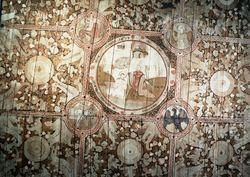Takmåleri i koret, Lom stavkyrkje