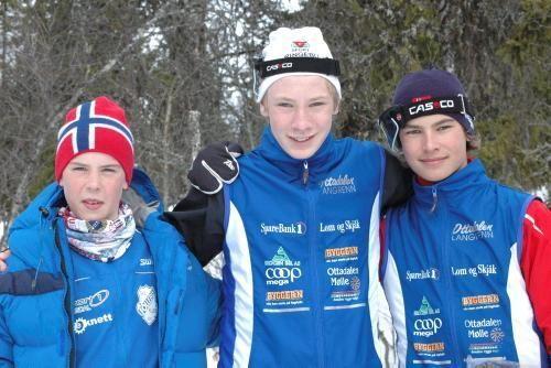 Sjur Slettom og Brage Lund Aakre er gode ambassadørar for Lom.