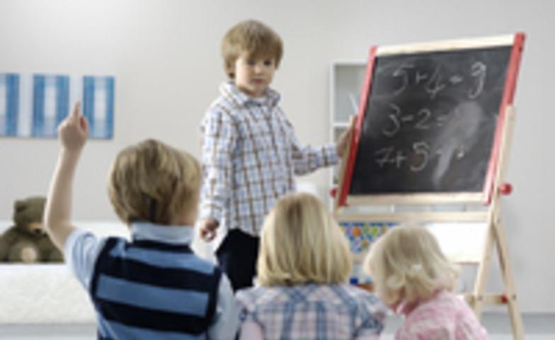 Barn lærer