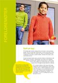 Bilde av en gutt med en far som står bak han. Forsidebilde til heftet Foreldremøter