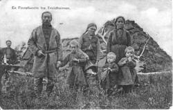 En finnefamilie i Troldheimen, familien Kant