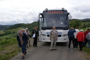 Ved bussen p Hlonda