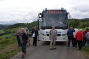 Ved bussen på Hølonda