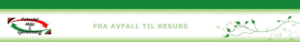 Logo Setesdal Miljø og Gjennvinning