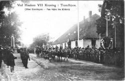 Ved Haakon VII Kroning i Trondhjem