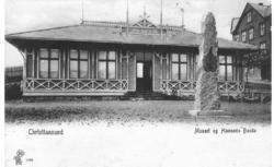 Christiansund Museet og Hansons Bauta 1909