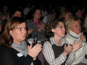 Applaus på Foreldrekonferansen 2010