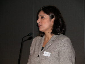 Loveleen Rihel Brenna på Foreldrekonferansen 2010