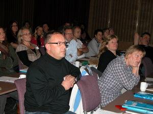 Lydhør forsamling Foreldrekonferansen 2010