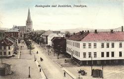 Munkegaden med Domkirken, Trondhjem