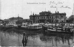 Jernbanestationen, Trondhjem, 1909