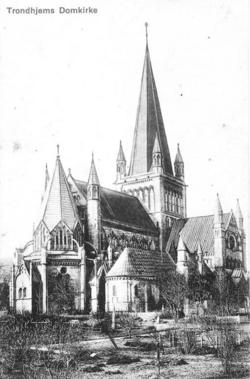 Trondhjems Domkirke, 1910