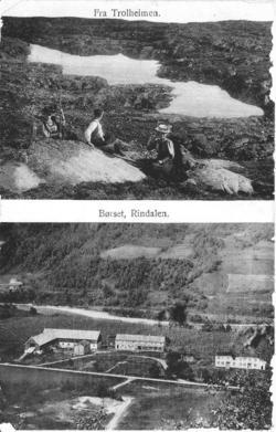Fra Trolheimen og Børset, Rindalen