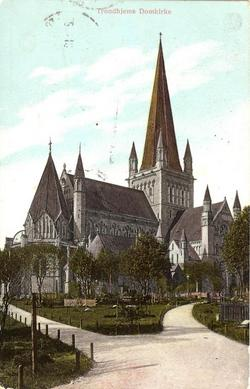 Trondhjems Domkirke 1910