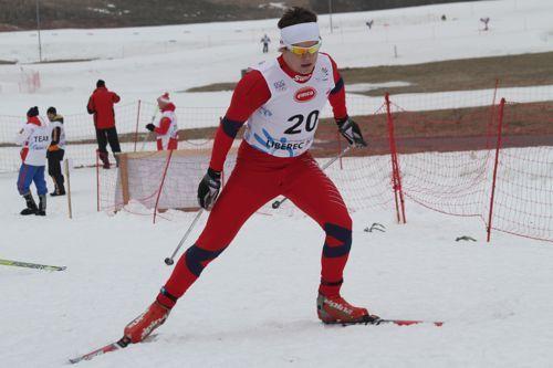 H�vard Sol�s Taugb�l under ungdoms-OL i Liberec