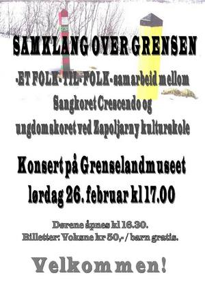 Konsert Samklang over grensen 27 02 2011