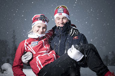 Anine Ahlsand og Petter Northug. Foto: Red Bull Under My Wing.