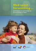Med spent forventning... Brosjyre om overgangen fra barnehage til skole, bilde av forsiden