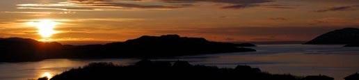 Midnattsol over Bøkfjorden