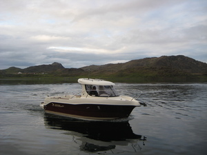 ARVOR 215AS (red) (2 - 4 persons) - Nordkapp Fiskecamp