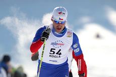 Petr Novak under verdenscupen i Rogla i 2009. Foto: Hemmersbach/Nordic Focus.