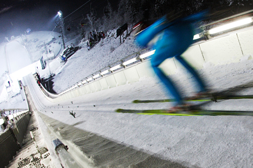 Hopping i Lillehammer. Foto: Domanski/NordicFocus.