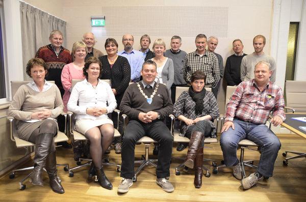 Kommunestyret samla til konstituerande møte 13. oktober 2011
