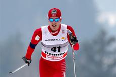 Snorri Einarsson i Val di Fiemme i forbindelse med Tour de Ski 2011. Foto: Laiho/NordicFocus.
