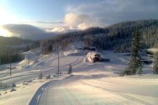 Det flotte anlegget som ble brukt under Ski-NM på Voss 2011. Arrangørfoto.