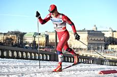 John Kristian Dahl på verdenscupsprinten i Stockholm 2011. Dahl er ikke selv blant de kvalifiserte til rennet, men bildet er så bra at det tåler godt å bli gjenbrukt allikevel. Foto: Felgenhauer/NordicFocus.