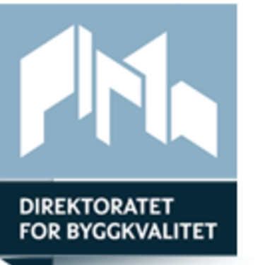 Logo til Direktoratet for byggkvalitet