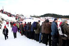 Deler av NM-arenaen for Ski NM Voss 2012. Foto: Geir Nilsen/Langrenn.com.