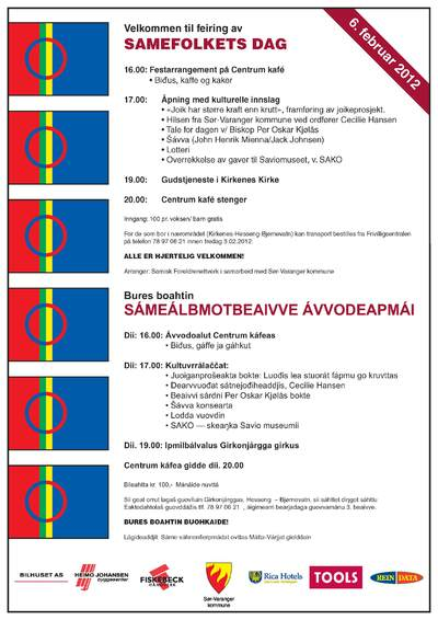 Plakat samefolkets dag 06 02 2012