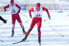 Eivind Bakkene på sprinten i U23-VM i Tyrkia for noen år siden. Foto: Erik Borg.
