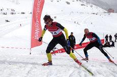 Petter Northug på vei mot mål i Røldal NedOpp i en tidligere utgave. Arrangørfoto.