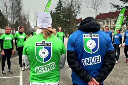 Bendit-duellen 2012. Bilde fra finalen på Krigsskolen i Oslo.