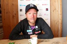 Martin Johnsrud Sundby på Sognefjellshytta. Foto: Erik Borg.