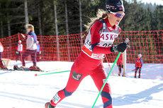 Martine Ek Hagen på 30 kilometeren i Holmenkollen 2012. Foto: Erik Borg.