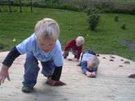 Klatrevegg i barnehage