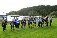 Klart for starten i Resfjellet Opp 2012. Arrangørfoto.
