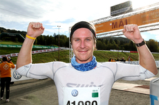 Eirik Kurland Olsen i mål som vinner av HalvBirken 2012. Foto: Eivind Bye, Sportmedia.
