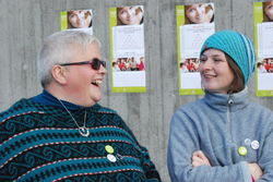 Kristin Øyjordet og Anne Marstein