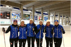 Fra Lillehammer Skiklubs juniorsamling i Oberhof, høsten 2012. Foto: Kristian A. Kjonerud.