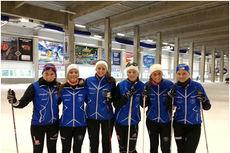 Fra juniorsamling i Oberhof med Lillehammer Skiklub. Foto: Kristian A. Kjonerud.