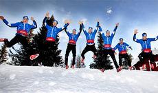 Team Coop Talent overtas nå av Morten Vingli Odsæter. Her fra lagets lansering i 2012. Foto: Geir Olsen.