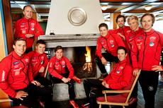 Team Coop Talent, hvor vi finner mange av Lillehammer Skiklubs løpere. Foto: Geir Olsen.