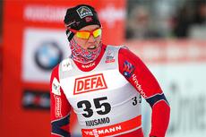 Pål Golberg i verdenscupsprinten i finske Kuusamo 2012. Foto: Laiho/NordicFocus.