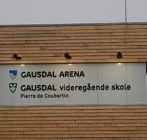 Skilt Gausdal Arena