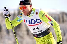 Tord Asle Gjerdalen underveis i den nasjonale sesongåpningens 15 km klassisk i Beitosprinten 2012. Foto: Geir Nilsen/Langrenn.com.