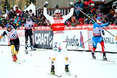Emil Jönsson var overlegen på sprinten i Canmore 2012. Foto: Roycroft/NordicFocus